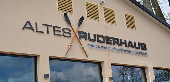 """Das """"Alte Ruderhaus"""" ist mit einem Shuttle-Service zu erreichen. Foto: Gernot Kirch"""