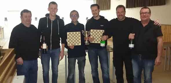 Von links: Günter Frey, Oliver Hetzel, Rico Peipelmann, Daniel Obenauer, Ronny Klein und Willi Leise.