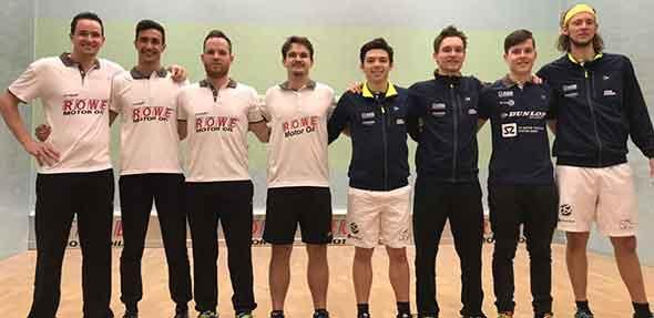 Leistungsgerecht endete das Spitzenspiel in der Squash-Bundesliga der Südgruppe zwischen Worms und Stuttgart.