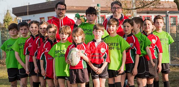 Am Sonntag müssen sich die Wormser Rugby-Kids wieder mit der Konkurrenz anderer Clubs messen.