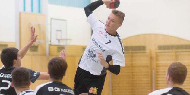 Lukas Klimavicius gehörte mit 8 Treffern zu den Top-Scoren des Spieles. Foto: Moritz Doerr/Die Knipser