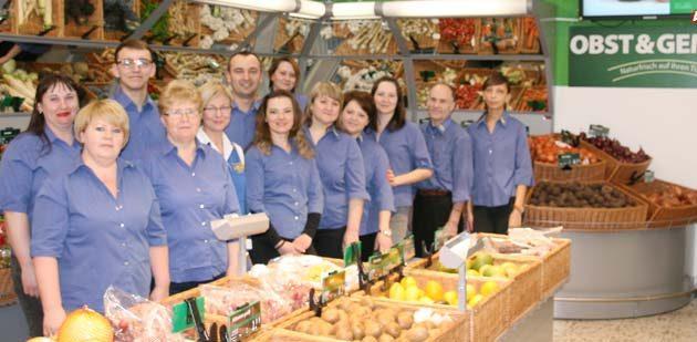 Das freundliche Team des MIX Markt Worms freut sich auf Ihren Besuch! Foto: oh