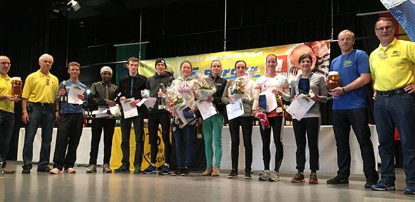 Mit dem fünften Platz der Damenwertung konnte besonders Jana Binninger erneut nach der Winterlaufserie ein großes Ausrufezeichen setzen.