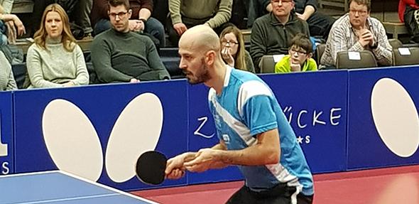 In der Saison 2018/2019 wird der 34-jährige Constantin Cioti den Tischtennis-Drittligisten TV Leiselheim auf der Spitzenposition verstärken.