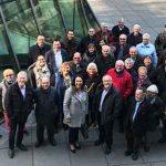 Eine große Gruppe von Sozialdemokraten und Sozialdemokratinnen aus der Region Rhein-Selz nutzte die Gelegenheit, ihrer Abgeordneten zum Geburtstag zu gratulieren.