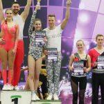 In der Akrobatik-Endrunde zeigten Rebekka Stahl und Nicolai Schneickert die gewohnte Stärke und holte sich die Goldmedaille.