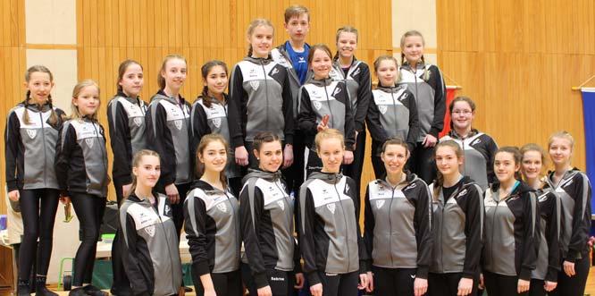 Die VfH-Athleten, die in Böhl-Iggelheim am Start waren.