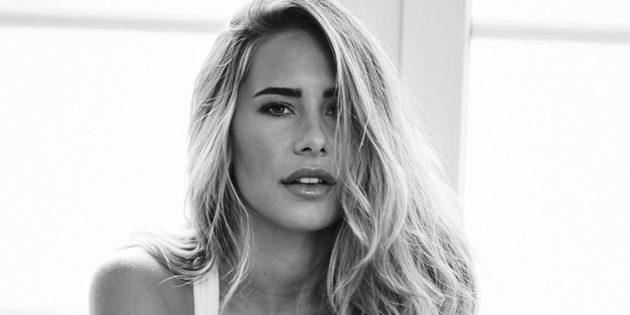 Anahita Rehbein wird Unterwäsche Model / MGM Models. Foto: obs/MGM Models GmbH