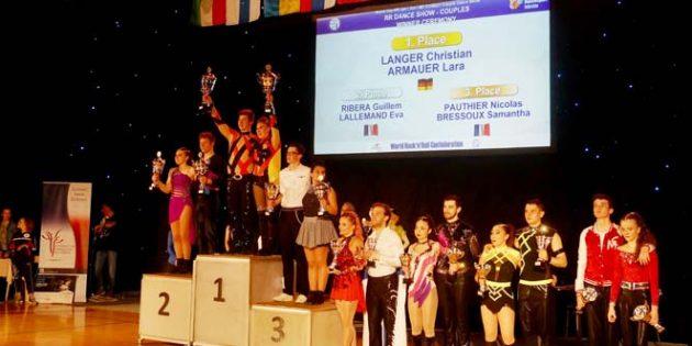 Auch bei diesem Turnier zeigten die Wormels einmal mehr, dass sie zu den internationalen Top-Paaren gehören.