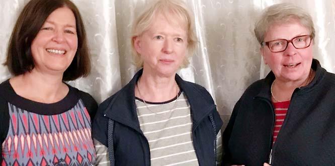 Stefanie Meixner-Dönges, Katharina Rave und Sybille Rachuth (von links).