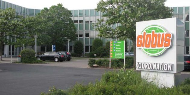 Die Globus-Zentrale in St. Wendel.