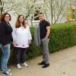 Patrick Sonek, Caroline Strauss und Jens Guth (von links)