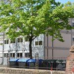 Die Stadt Worms kauft eine Containeranlage für die Staudinger-Grundschule, ähnliche wie eine zurzeit an der Nibelungenschule genutzt wird. Foto: Gernot Kirch