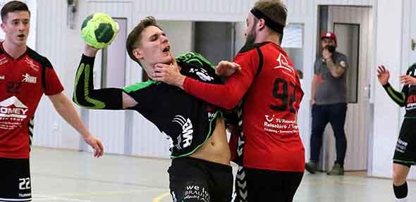 Trotz harter Gangart am Kreis konnte Moritz Brestrich drei Treffer im Heimspiel gegen SG Gösenroth/Laufersweiler erzielen. Foto: Felix Diehl