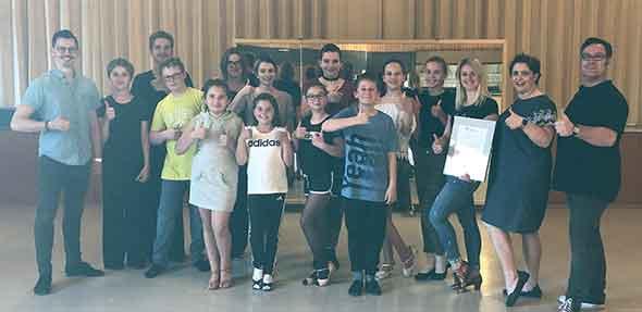 Der TSC Worms freut sich über die Auszeichnung durch den Tanzsportverband des Landes.