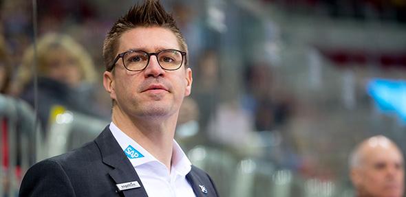"""Jochen Hecht wird in der Spielzeit 2018/19 nicht mehr als Co-Trainer der Adler fungieren. Foto: """"AS-Sportfoto / Sörli Binder"""""""