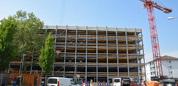 Die Realisierung des Parkhaus am Dom steht auch weiterhin im Fokus von Öffentlichkeit und Politik. Foto: Gernot Kirch