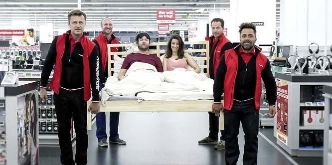 Gesucht: das verrückteste und lustigste Bettvideo