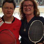 Gabi Fischer und Doris Prior (von rechts) fahren zur Deutschen Meisterschaft der Senioren.