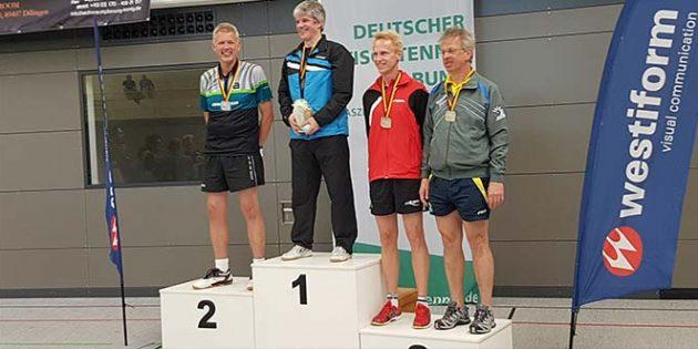 Mit dritten Plätzen zieht der TSV Flörsheim-Dalsheim von den Deutschen Tischtennis-Seniorenmeisterschaften eine positive Bilanz.