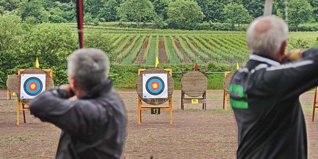 Auch beim RLP-Tag kann man die alte Kunst des Bogenschießens ausprobieren.