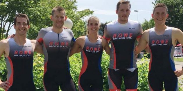Das ROWE stimmel-sports Erwachsenen-Team.
