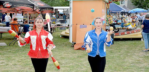 Das Bürgerfest in Bobenheim-Roxheim lädt am Pfingstwochenende zu einem abwechslungsreichen Programm. Foto: Gernot Kirch