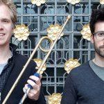 MIt Jonathan de Weerd und Alexander Sauer (von links) sind am 26. Mai zwei Ausnahmemusiker in der Lutherkirche zu Gast.