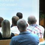 Viele Handwerker folgten der Einladung und informierten sich über die neuen Datenschutzrichtlinie.