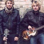 Die Zwillingsbrüder Marco und Dario Klein arbeiten derzeit an ihrem dritten Album. Foto Nadja Müller