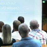 Rudolf Schüler klärte die Anwesenden gründlich über die Herausforderung der EU-DSGVO auf. Foto: Rudolf Uhrig