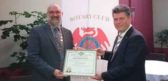 Neuer Präsident des Rotary Club Worms-Nibelungen