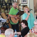 Beim Mitmach-Singtreff der Chorgemeinschaft Horchheim herrschte beste Stimmung und eine ausgelassene Feierlaune.