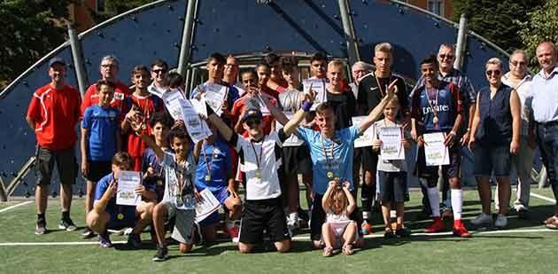 Teilnehmer und Veranstalter konnten im Rahmen der Siegerehrung wieder ein positives Fazit der Veranstaltung ziehen.
