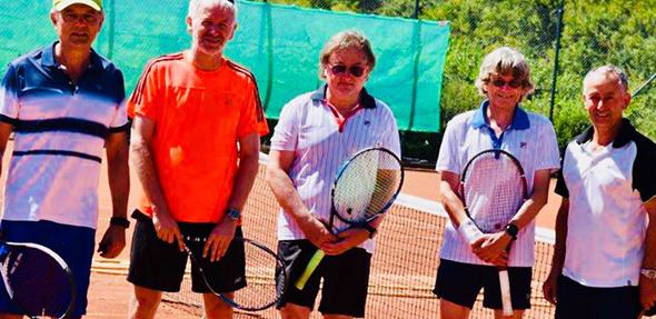 Peter Schneiderlöchner, Matthias Kluth, Michael Döppert, Wolfgang Döppert und Nader Djabarian.