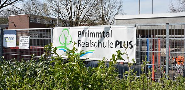 Die Pfrimmtal-Realschule wird durch einen Neubau an der Nievergoltstraße zusammengezogen. Foto: Gernot Kirch
