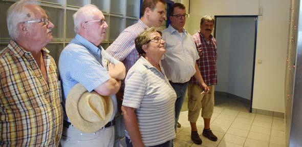 Michael Scherer,Christian Gukenbiehl,Thomas Goller,Doris Scherrer undKlaus Hagemann (von rechts).