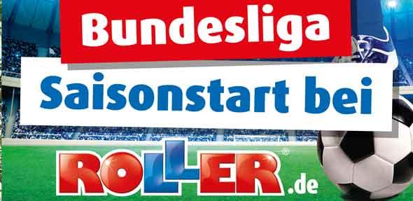 Mit einem streng limitierten Bundesliga-Regal, tollen Gewinnspielen und weiteren Aktionen bringt ROLLER den Fans zu Beginn der neuen Saison die Bundesliga direkt ins eigene Wohnzimmer.