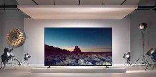 Zu den spektakulärsten IFA-Neuheiten gehören 8K-Fernseher von Samsung.