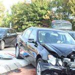 Unfallstelle Kolpingstraße, Einmündung B47.  Foto: Polizei
