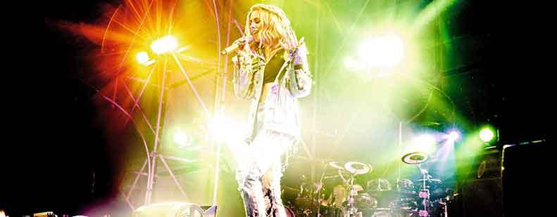 Die Energie der Sängerin sorgt bei ihrem Publikum auch am 2. November in Worms für unvergessliche Glücksmomente. Foto: Sandra Ludewig