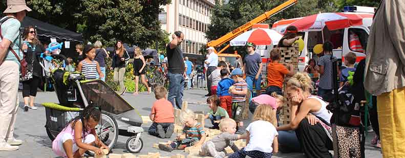 Der Weltkindertag am 22. September auf dem Lutherplatz bietet von 11 bis 16 Uhr wieder jede Menge Angebote zum Spielen.