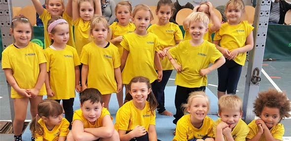 Der Verein gratuliert allen Turnerinnen und Turnen und wünscht ihnen schon jetzt viel Glück für den nächsten Wettkampf am 4. November in Albisheim.
