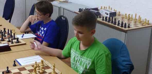 Elias Holschuh und Max Schüttler