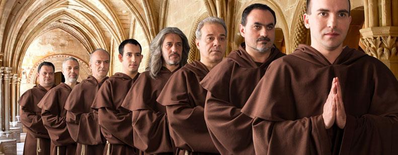 """Seit Jahren gehören """"The Gregorian Voices"""" fest zum Wormser Veranstaltungskalender der Vorweihnachtszeit."""