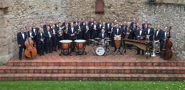 Das Landespolizeiorchester Rheinland-Pfalz.