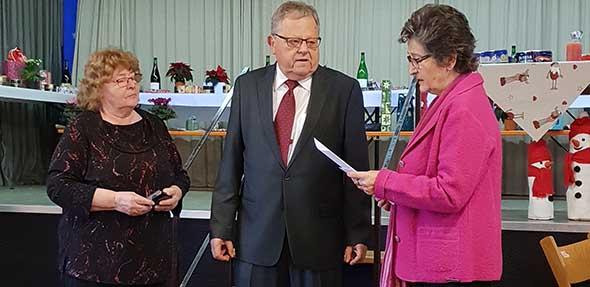 Von links: Maria Sowietzki, Wolfgang Frey und Erika Preuße.