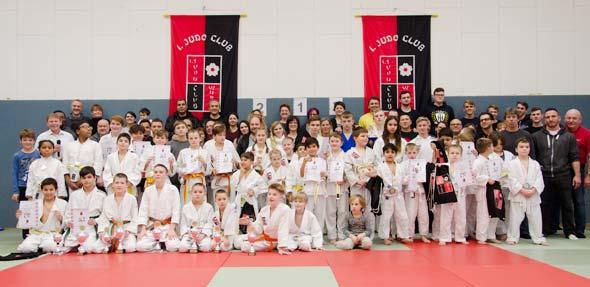 Das vereinsinterne Turnier stieß auf großen Anklang bei den Judokas.