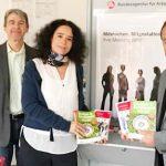 Thomas Labisch und Susanne Decker mit Jens Guth (von links).