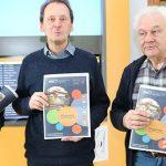 Kurt Steffens, Michael Zuber und Joachim Zänker (v.l.) präsentieren das neue Semesterprogramm von Kreisvolkshochschule und Kreismusikschule.